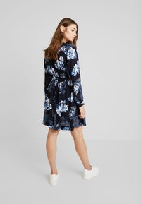 French Connection - CATERINA CREPE  - Day dress - utility blue multi - 3