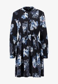 French Connection - CATERINA CREPE  - Day dress - utility blue multi - 5