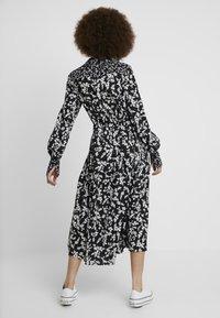French Connection - BRUNA LIGHT DRESS - Maxi dress - black/classic cream - 2