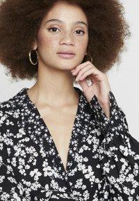 French Connection - BRUNA LIGHT DRESS - Maxi dress - black/classic cream - 3