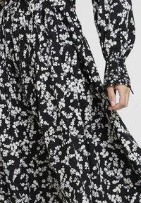 French Connection - BRUNA LIGHT DRESS - Maxi dress - black/classic cream - 5