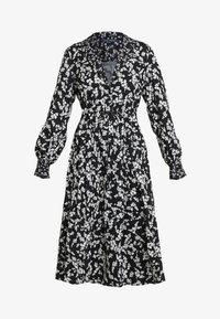 French Connection - BRUNA LIGHT DRESS - Maxi dress - black/classic cream - 4