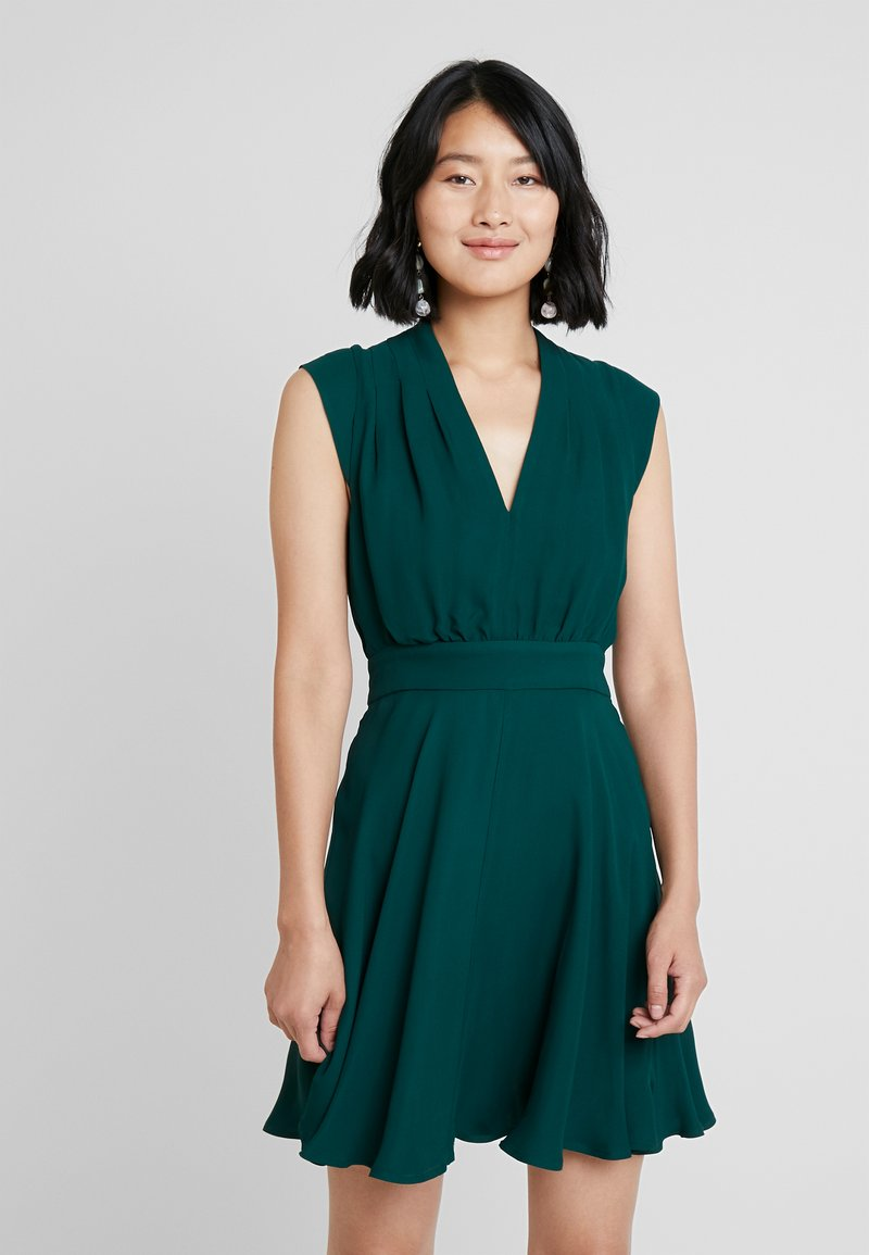 French Connection - CARRABELLE DRESS - Day dress - bayou green