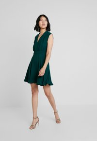 French Connection - CARRABELLE DRESS - Day dress - bayou green - 2