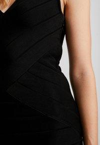 French Connection - ZASHA  - Shift dress - black - 4