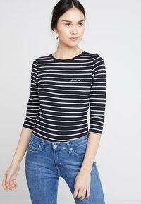 French Connection - TIM TIM AMOUR - Long sleeved top - dark blue - 0