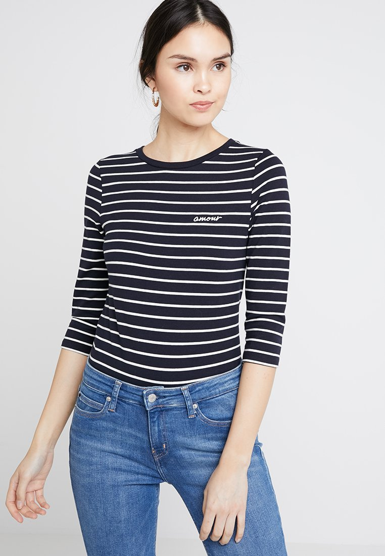 French Connection - TIM TIM AMOUR - Long sleeved top - dark blue