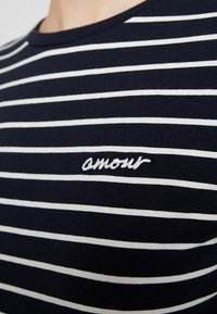 French Connection - TIM TIM AMOUR - Long sleeved top - dark blue - 6