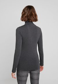 French Connection - VENETIA SPLIT CUFF - Long sleeved top - charcoal melange - 2