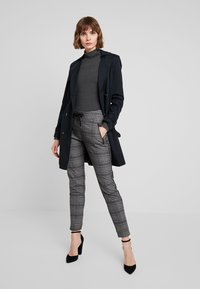 French Connection - VENETIA SPLIT CUFF - Long sleeved top - charcoal melange - 1
