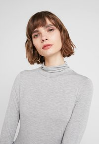 French Connection - VENETIA SPLIT CUFF - Long sleeved top - light grey - 4