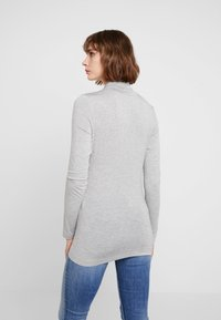French Connection - VENETIA SPLIT CUFF - Long sleeved top - light grey - 2