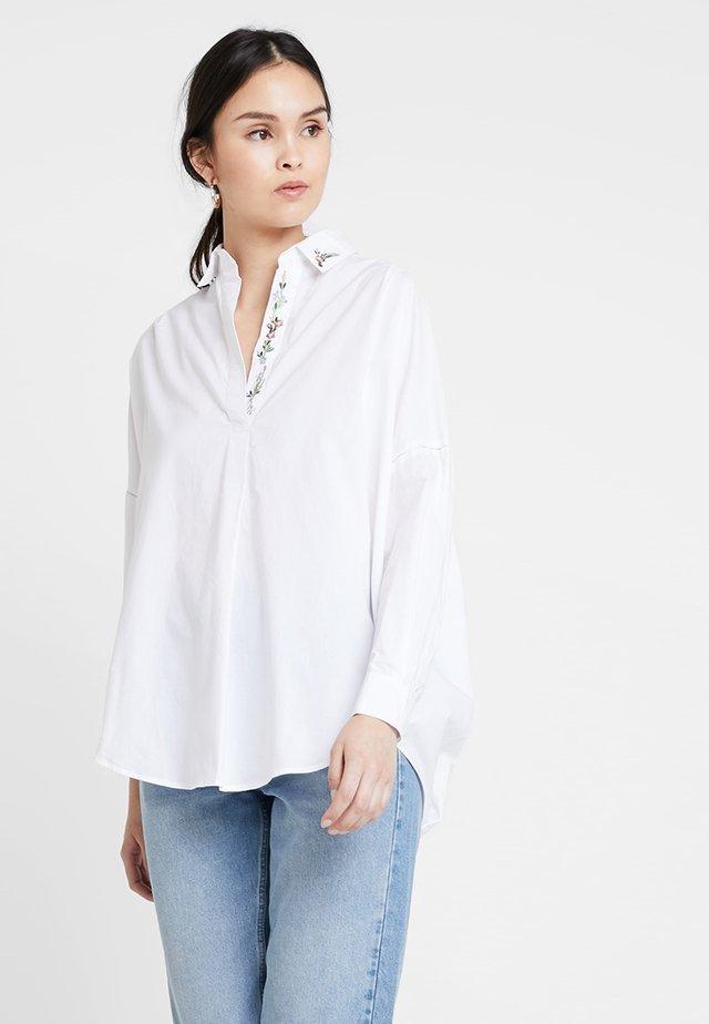 RHODES - Bluse - white