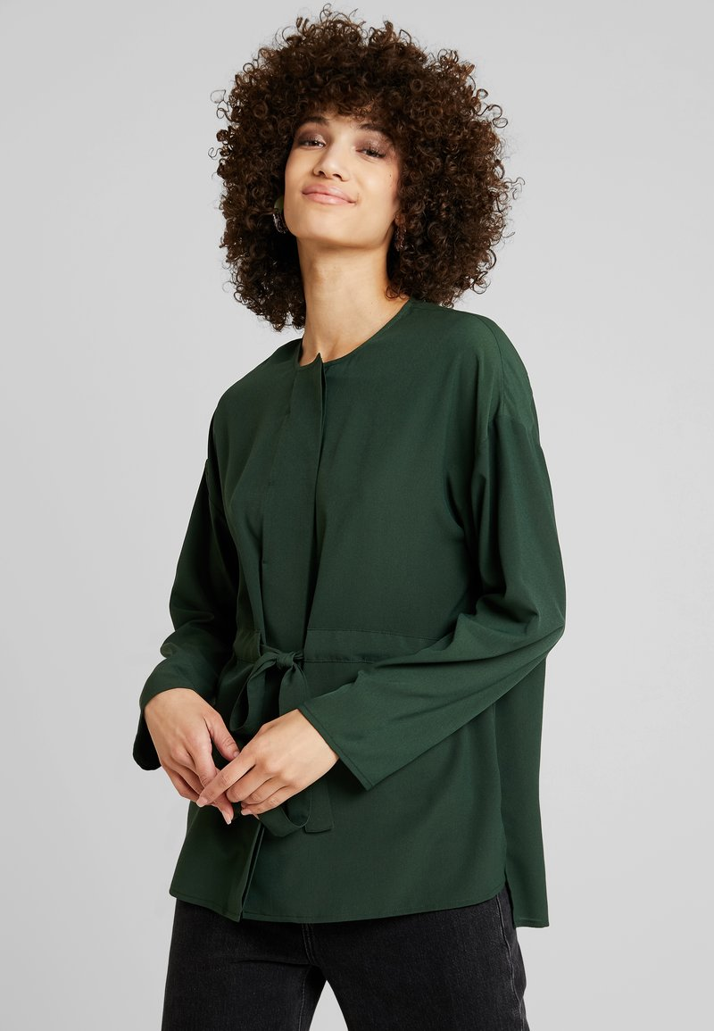 French Connection - WAIST - Blouse - laurel