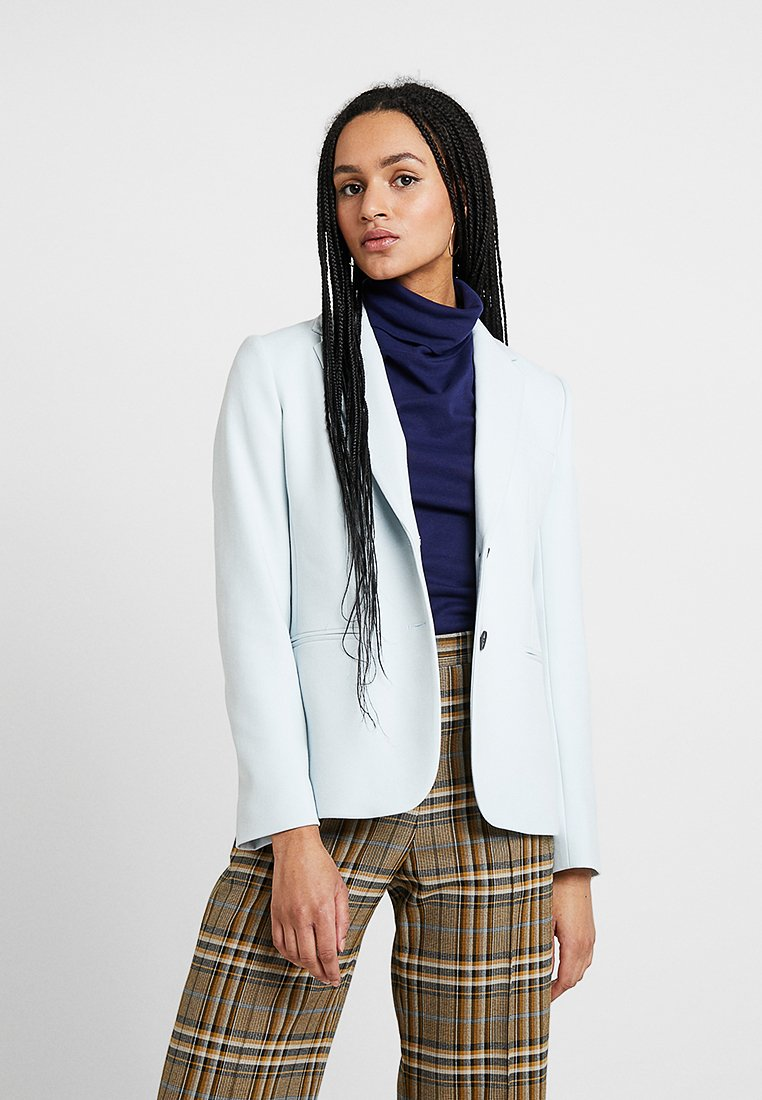 French Connection - SUNDAE SUITING SINGL - Blazer - light dream blue