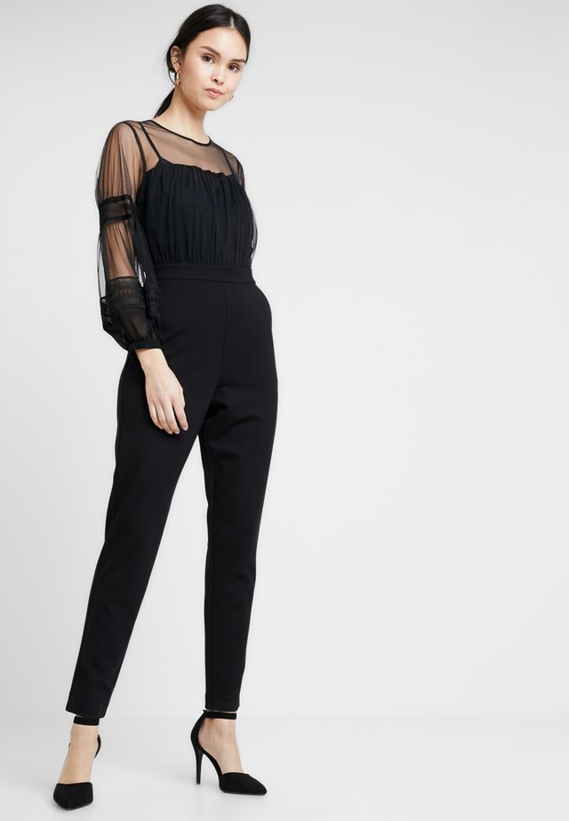 PAULETTE PUFF - Jumpsuit - black