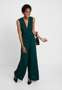 French Connection - CARRABELLE PLEATD - Jumpsuit - bayou green - 1