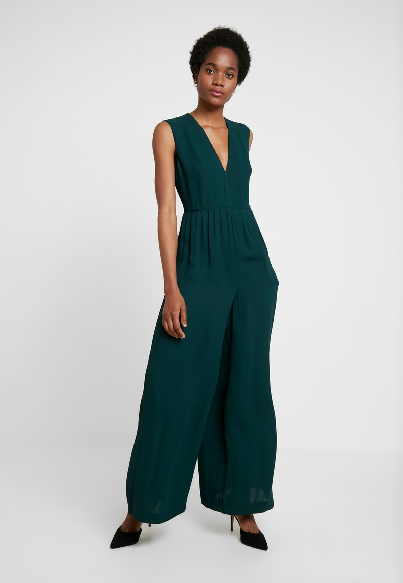 French Connection - CARRABELLE PLEATD - Jumpsuit - bayou green