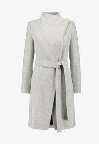 French Connection - BELLAROSA BELTED COAT - Classic coat - oatmeal melange - 5