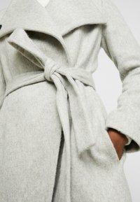French Connection - BELLAROSA BELTED COAT - Classic coat - oatmeal melange - 6
