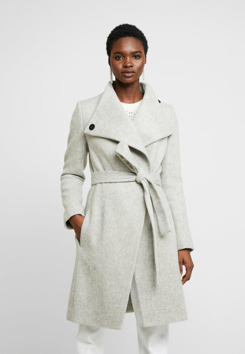 French Connection - BELLAROSA BELTED COAT - Classic coat - oatmeal melange