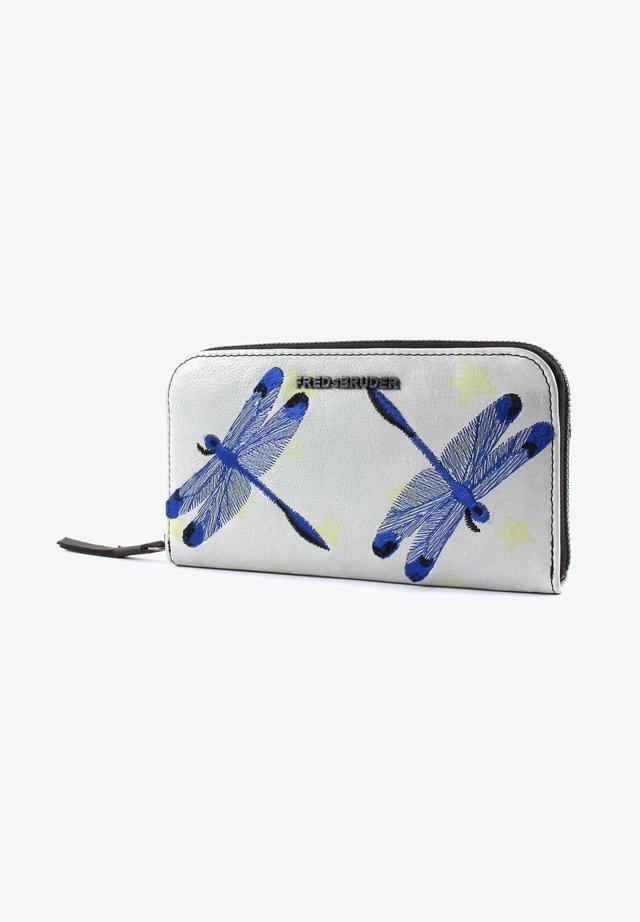 Wallet - stars / dragonflies