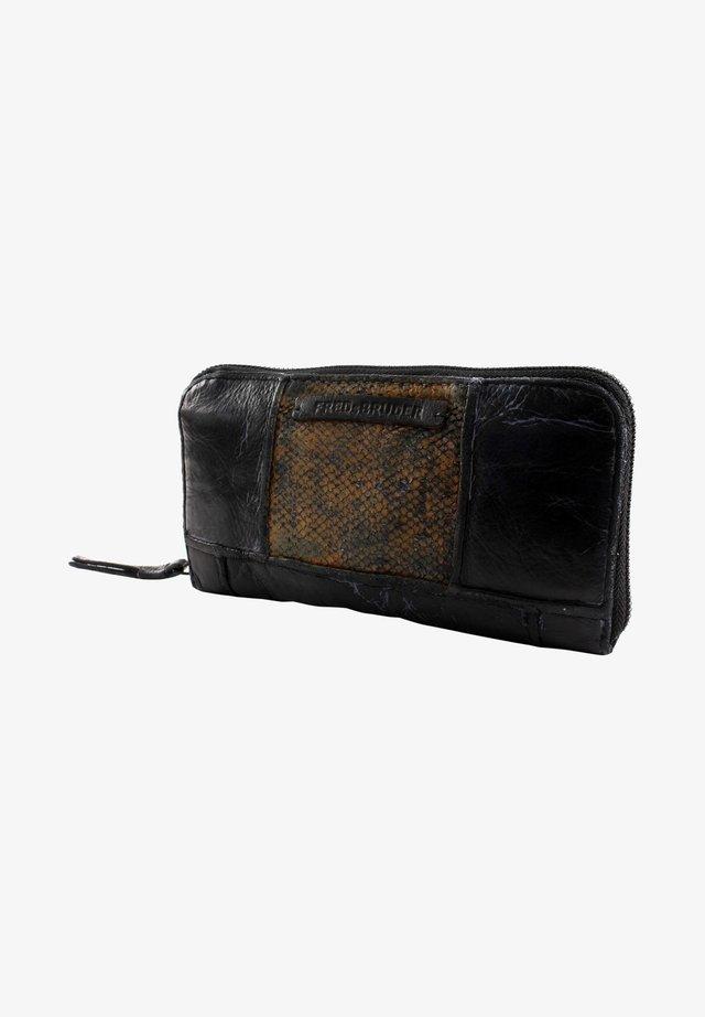 Wallet - black/mustard