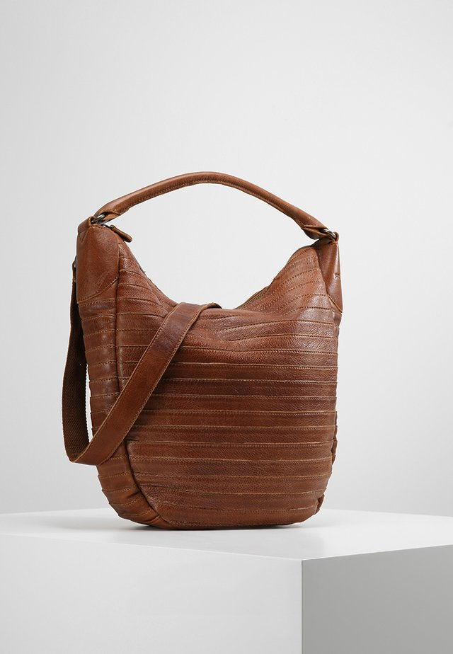 GÜRTELTIER  S - Shopping Bag - cognac