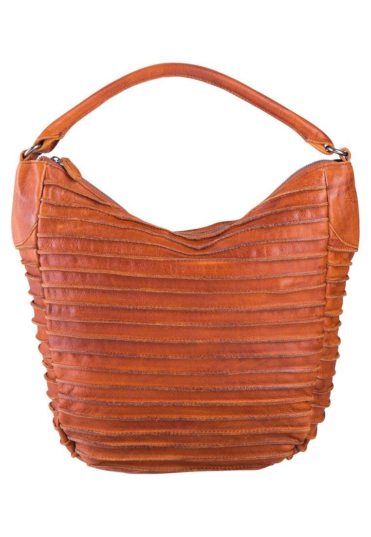 Fredsbruder Riffeltier - Handbag Cognac