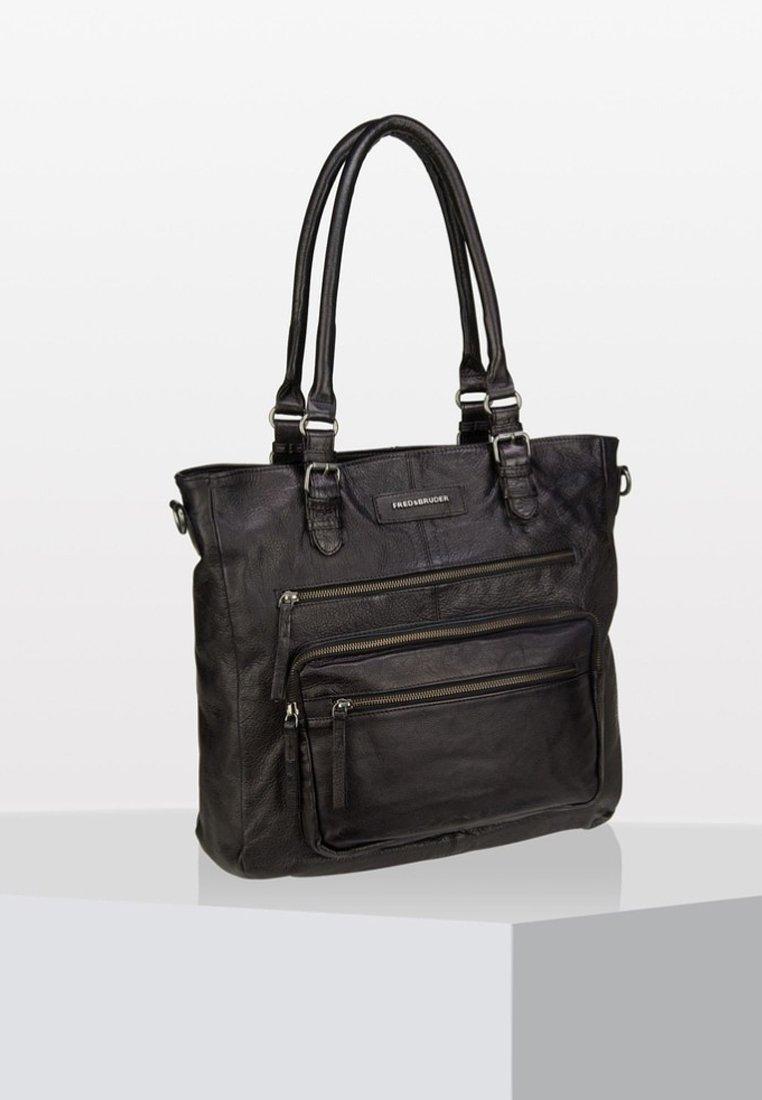 FREDsBRUDER - Tote bag - black