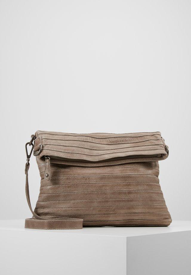 STERNCHEN - Taška spříčným popruhem - light grey