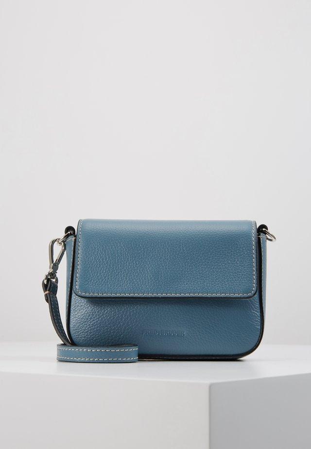 SAVONA - Taška spříčným popruhem - blue grey