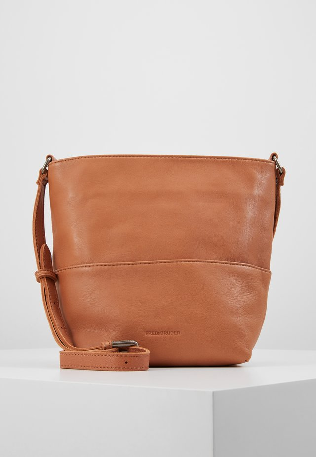 CHIC - Across body bag - cognac