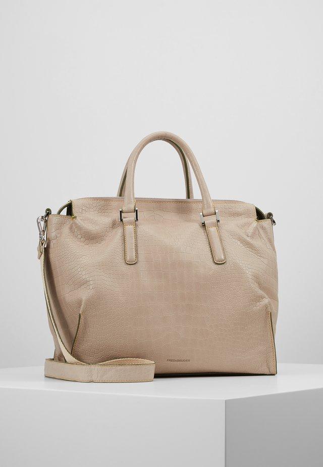 TERRY - Handtasche - beige