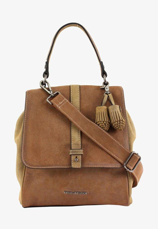 Handbag - cinnamon