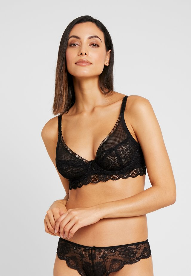 EXPRESSION HIGH APEX BRA - Kaarituelliset rintaliivit - black