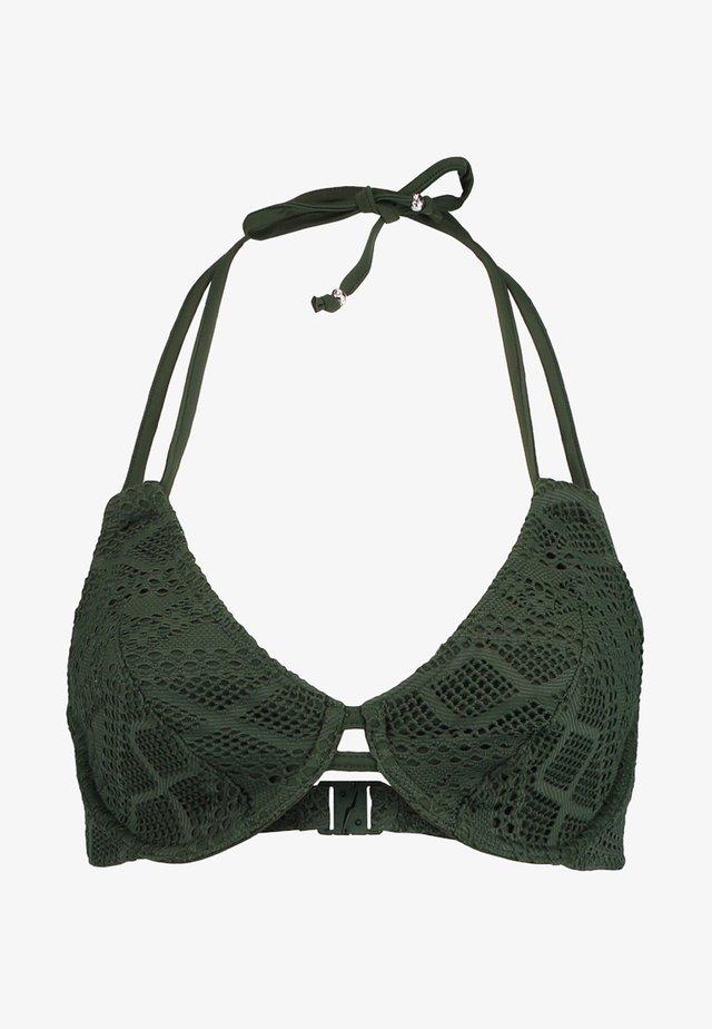 SUNDANCE NECKHOLDER - Bikini top - fern