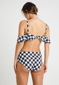 Freya - TOTALLY CHECK BARDOT - Bikinitop - monochrome - 4