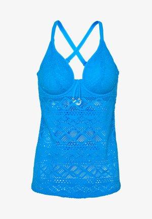 SUNDANCE PADDED TANKINI - Top de bikini - blue moon