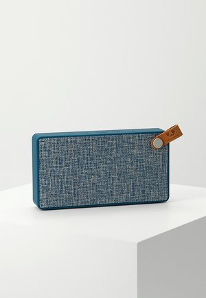 ROCKBOX SLICE FABRIQ EDITION BLUETOOTH SPEAKER - Speaker - indigo
