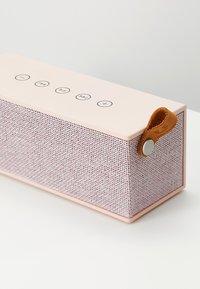 Fresh 'n Rebel - ROCKBOX BRICK FABRIQ EDITION BLUETOOTH SPEAKER - Speaker - cupcake - 5