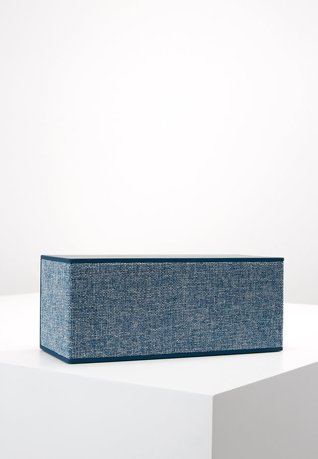 ROCKBOX BRICK XL FABRIQ EDITION BLUETOOTH SPEAKER - Lautsprecher - indigo