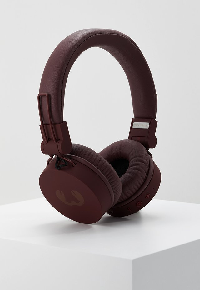 CAPS WIRELESS HEADPHONES - Hörlurar - ruby