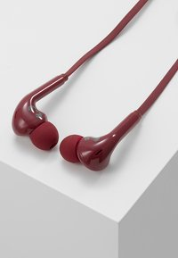 Fresh 'n Rebel - VIBE WIRELESS IN EAR HEADPHONES - Høretelefoner - ruby - 0