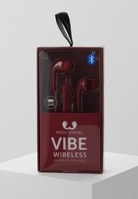 Fresh 'n Rebel - VIBE WIRELESS IN EAR HEADPHONES - Høretelefoner - ruby - 2