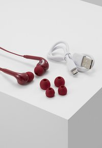 Fresh 'n Rebel - VIBE WIRELESS IN EAR HEADPHONES - Høretelefoner - ruby - 3