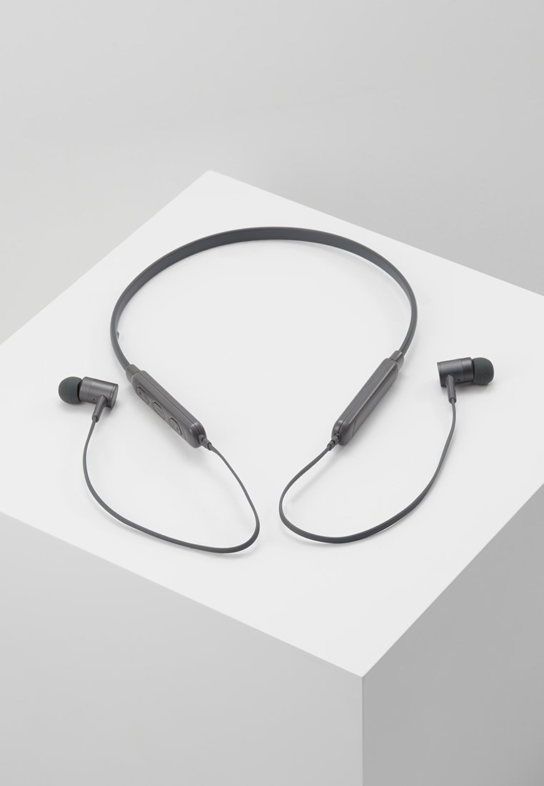Fresh 'n Rebel - BAND IT WIRELESS IN EAR HEADPHONES - Headphones - concrete