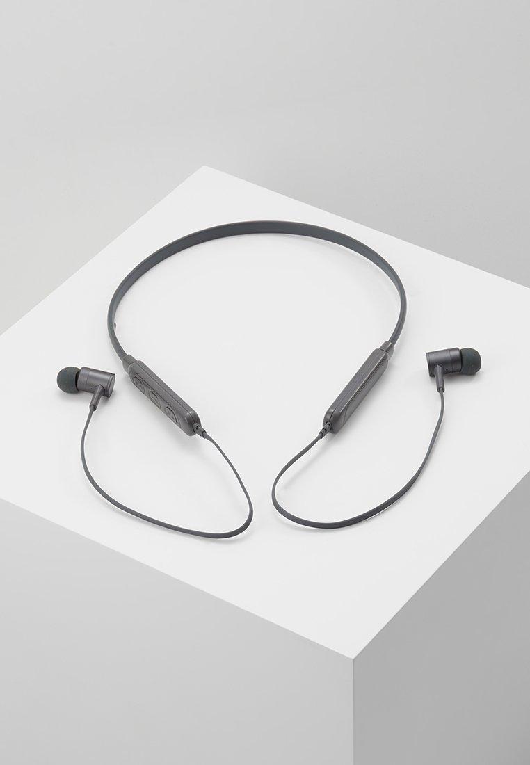 Fresh 'n Rebel - BAND IT WIRELESS IN EAR HEADPHONES - Kopfhörer - concrete