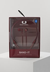 Fresh 'n Rebel - BAND IT WIRELESS IN EAR HEADPHONES - Headphones - ruby - 2