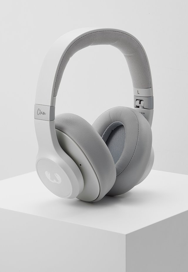 CLAM ANC WIRELESS OVER EAR HEADPHONES - Høretelefoner - ice grey